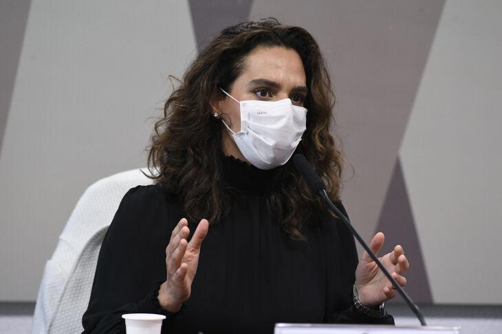 Luana Araújo foi anunciada para a Secretaria Extraordinária de Enfrentamento à Covid-19 (Foto: Jefferson Rudy/Agência Senado)