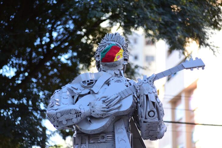 O objetivo é a necessidade do uso da máscara (Foto: Diogo Zanatta/Divulgação PMPF)