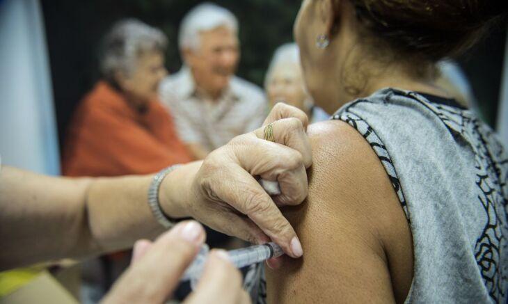 22,1 milhões de pessoas foram imunizadas (Foto: Marcelo Camargo/Agência Brasil)