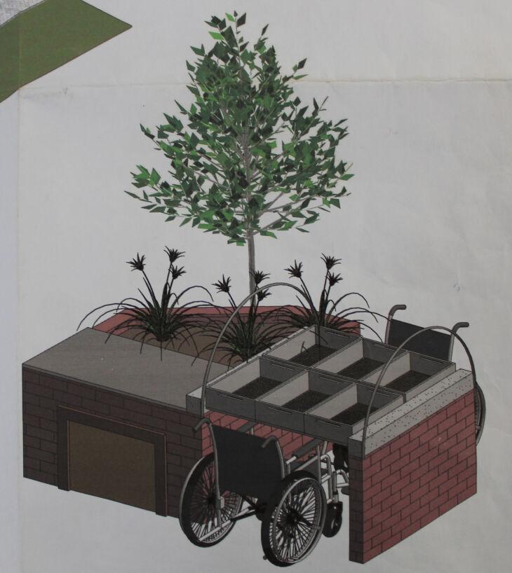 Projeto da Horta Elevada (Foto: Divulgação)