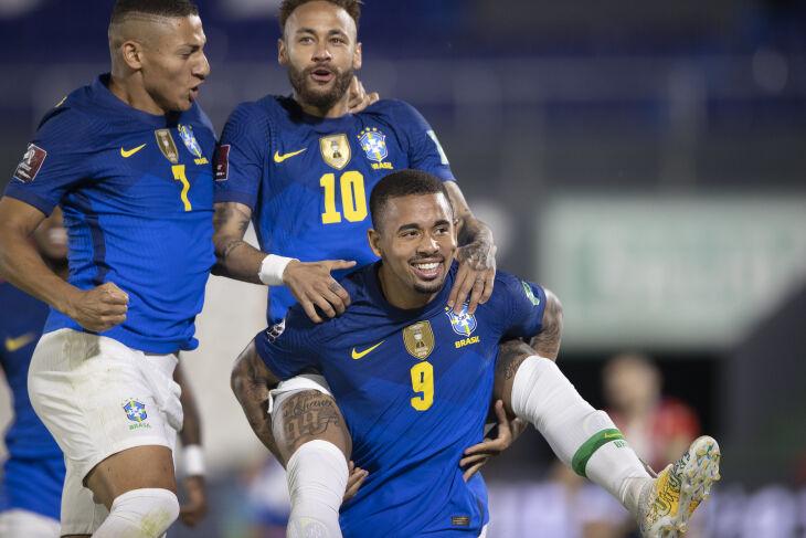 Neymar marcou o primeiro - Lucas Figueiredo-CBF