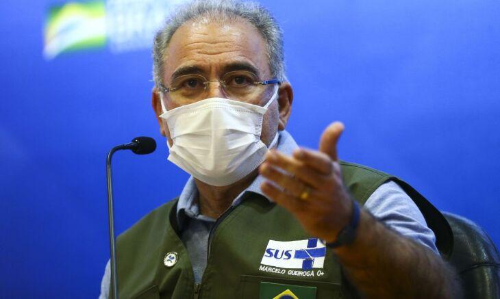 O ministro disse ainda que as vacinas têm validade até o dia 27 de junho (Foto: Marcelo Camargo/Agência Brasil)