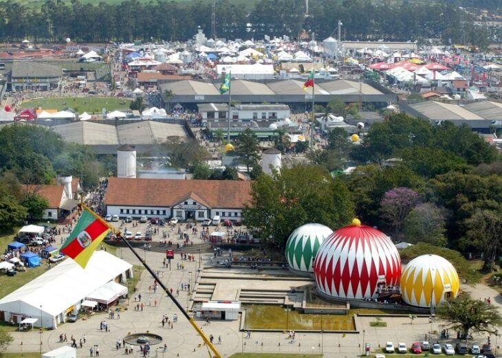 A 44ª edição da feira deverá ter controle de público e restrições (Foto: Divulgação/Expointer)