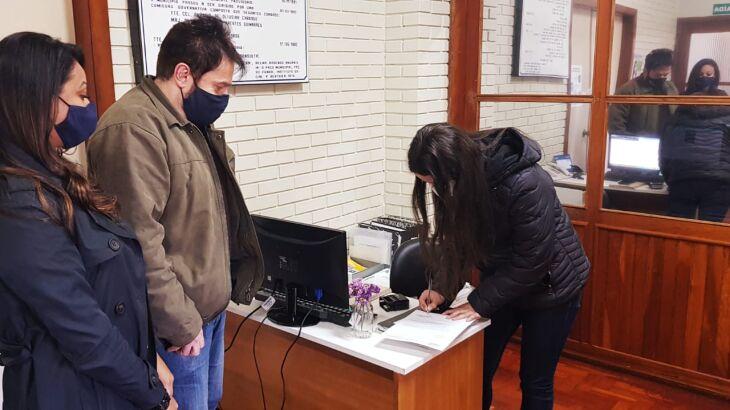 O pedido de agenda foi entregue na sexta-feira (18) (Foto: Divulgação/CMP)