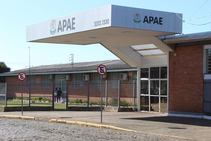 A instituição atende aproximadamente 350 usuários (Foto: Divulgação/APAE)