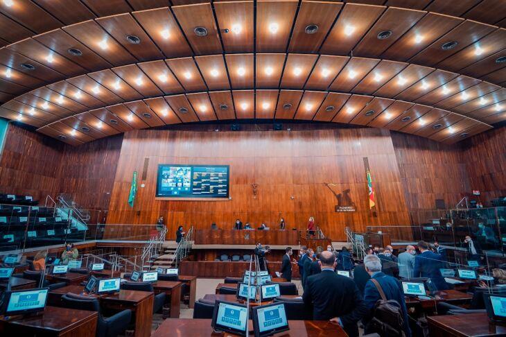 A sessão foi a última antes do recesso parlamentar (Foto: Joel Vargas / Agência ALRS / Divulgação)