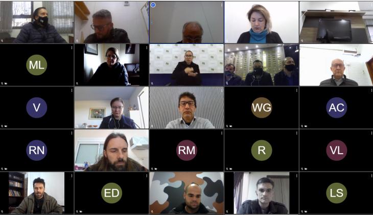 A audiência contou com a participação de entidades e lideranças populares (Imagem: Reprodução/Comunicação/CMPF)