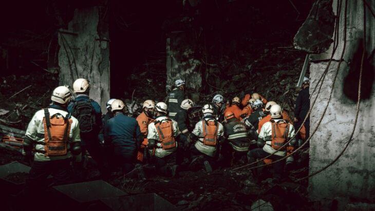 As buscas duraram uma semana pelo bombeiros desaparecidos ( Foto: Rodrigo Ziebell/Ascom GVG)