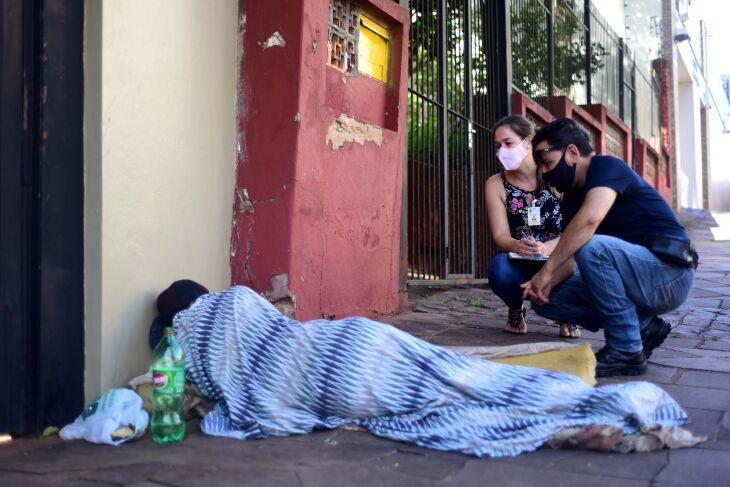 A abordagem ocorre durante 24 horas em Passo Fundo (Foto: Diogo Zanatta/PMPF)