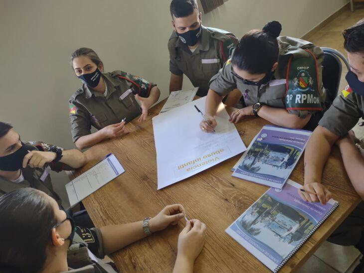 Fotos: Divulgação/Brigada Militar