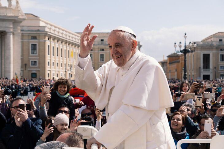 O chefe da Igreja Católica direcionou o apelo à América Latina (Foto: Arquivo/Ashwin Vaswani/Unsplash)