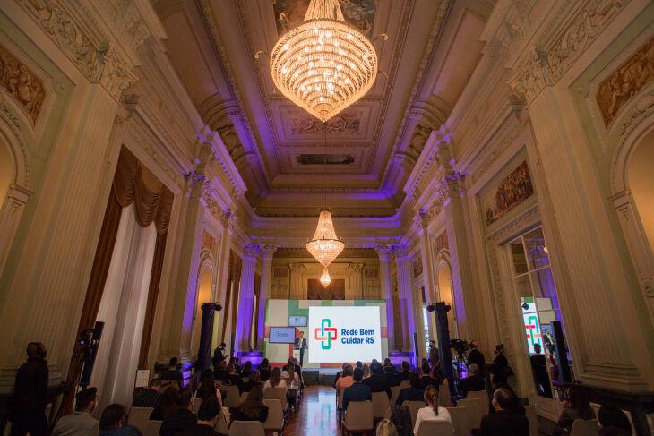 O lançamento ocorreu nesta segunda-feira (23) (Foto: Felipe Dalla Valle / Palácio Piratini)