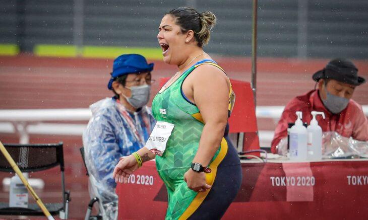 Esta é a segunda medalha que ela conquista em Tóquio (Foto: Wander Roberto/CPB)