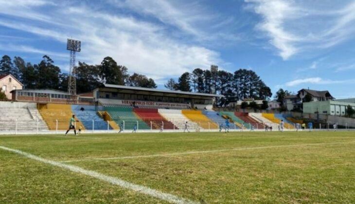 Estádio Antônio David Farina -Foto-Ana Julia Griguol/Rádio Veranense
