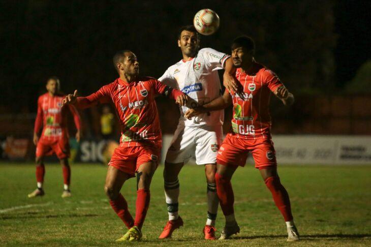A partida foi a primeira pelo returno da competição (Foto: Reprodução/FGFTV)