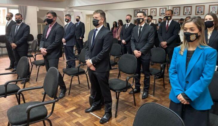 30 novos Delegados e Delegadas foram empossados (Foto: Divulgação/SSP)
