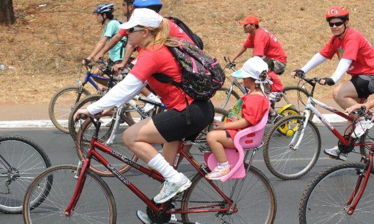 O uso de bicicletas e patinetes também mostrou alta de 3% no mundo (Foto: Wilson Dias/Agência Brasil)