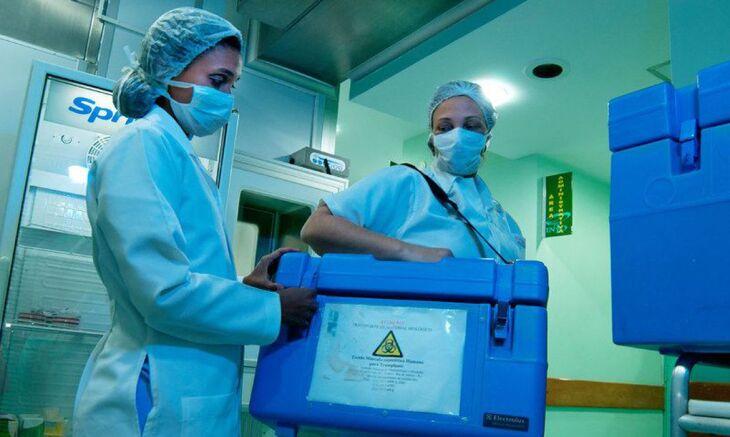 Estima-se que, no Brasil, ocorram mais de 9 mil mortes encefálicas que propiciem a doação de órgãos (Foto: Divulgação/Ministério da Saúde)