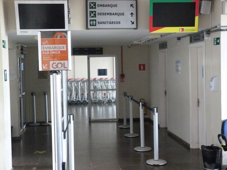 Aeroporto foi fechado em 11 de janeiro para as obras de ampliação do terminal (Foto: Arquivo/ON)