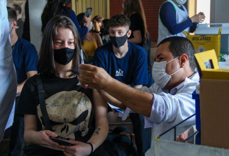 A vacinação com primeira dose será no CTG Lalau Miranda (Foto: Divulgação/PMPF)