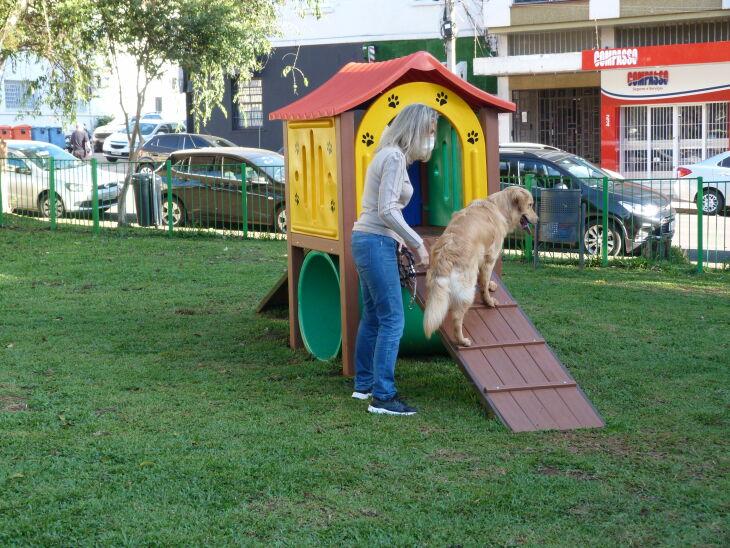O Espaço Pet fica localizado na Praça Capitão Jovino (Fotos: Bruna Scheifler/ON)