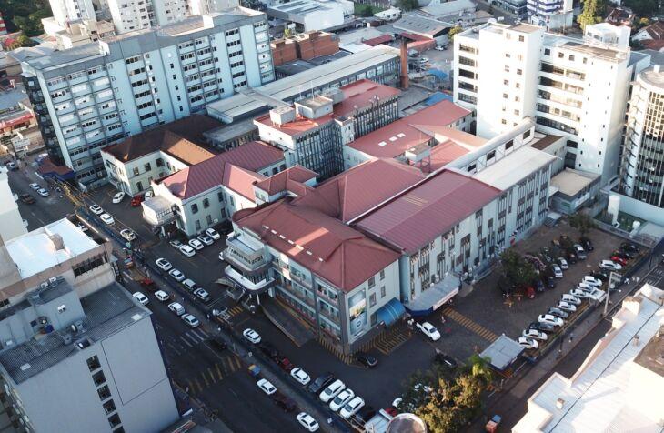 UFFS está disponibilizando 51 vagas para o estudo prático no Hospital São Vicente de Paulo (Foto: Divulgação HSVP)