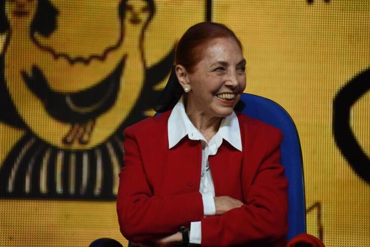 A premiada escritora Marina Colasanti participa desde a segunda edição da Jornada (Foto: Gelsoli Casagrande/Divulgação UPF)