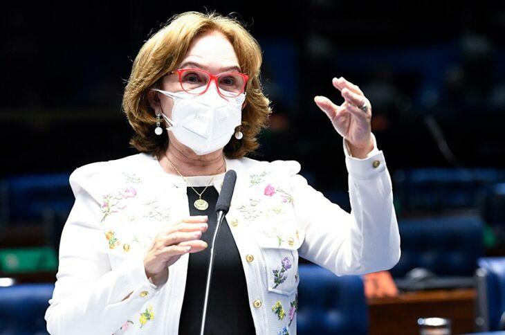 A senadora Zenaide Maia (Pros-RN) foi relatora do PL 4.968/2019 e defendeu a derrubada do veto presidencial (Foto: Jefferson Rudy/Agência Senado)