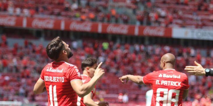 Na classificação, o Inter chega ao sétimo lugar, com 36 pontos(Foto: Ricardo Duarte/Internacional)