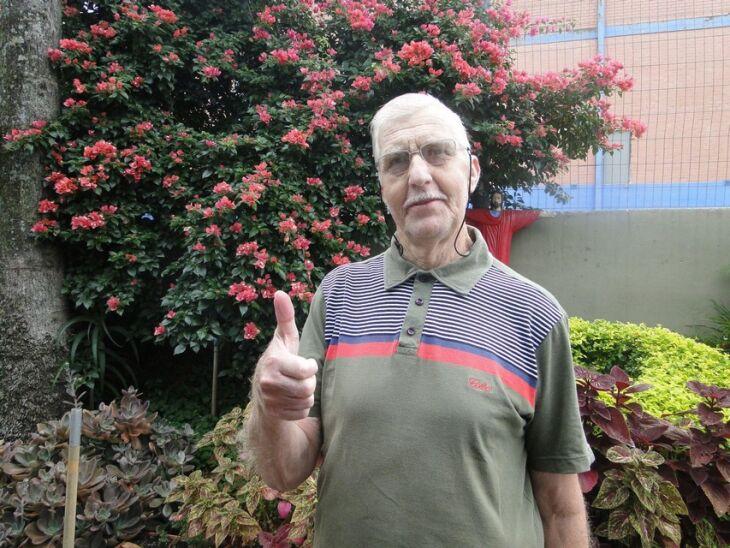 Rudiberto Coldebella completou quatro meses de seu transplante de fígado
