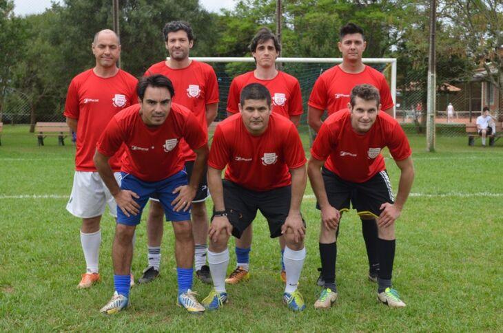 Vermelha: finalista do futebol sete