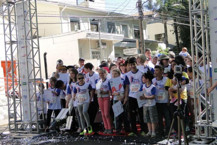 Na sua primeira edição corrida reuniu mais de 800 participantes