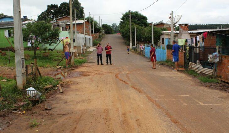 Moradores fizeram reivindicações para a Secretaria de Obras
