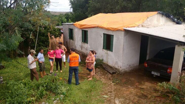 Técnicos da Defesa Civil Estadual foram até São Francisco de Assis vistoriar áreas de risco