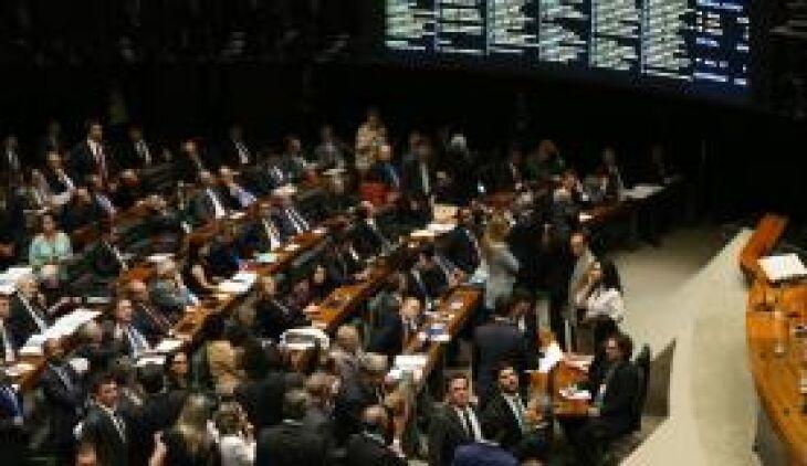Plenário da Câmara aprovou o texto base do projeto de lei que cria medidas contra a corrupção
