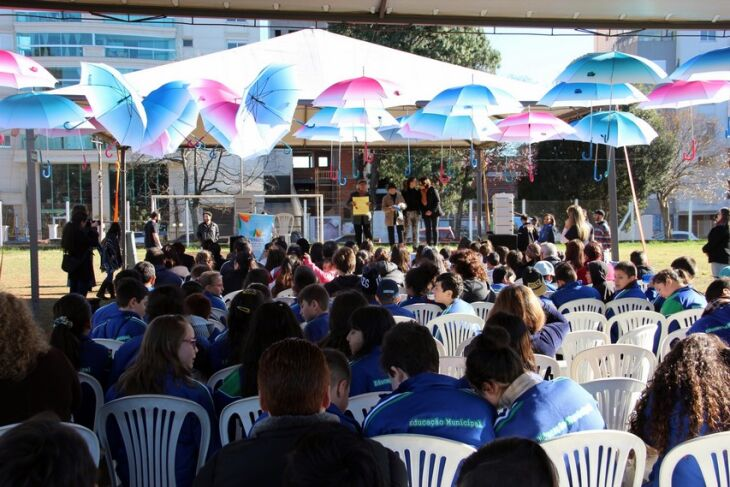 Atividade aconteceu sábado à tarde no estádio Fredolino Chimango