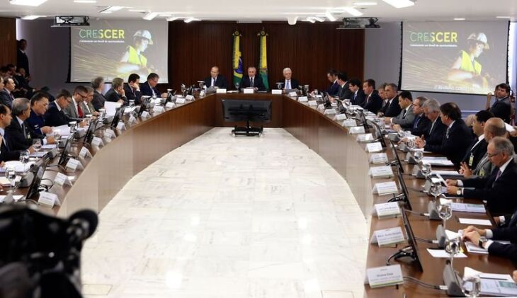 Presidente Michel Temer coordena reunião do Conselho do Programa de Parcerias de Investimento (PPI), no Palácio do Planalto