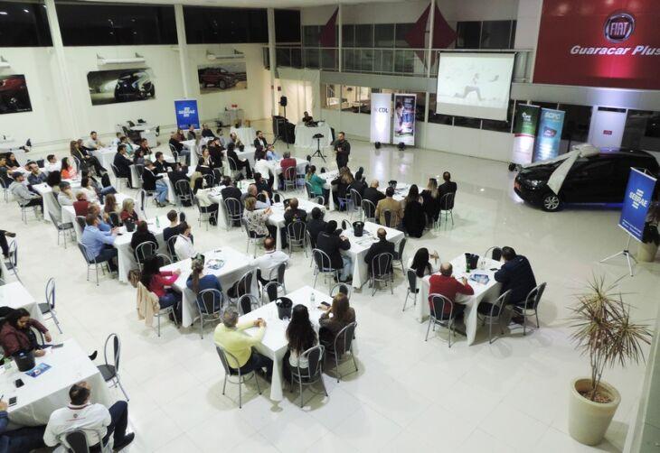 Evento reuniu empresários e colaboradores na empresa Guaracar Plus, no bairro Boqueirão