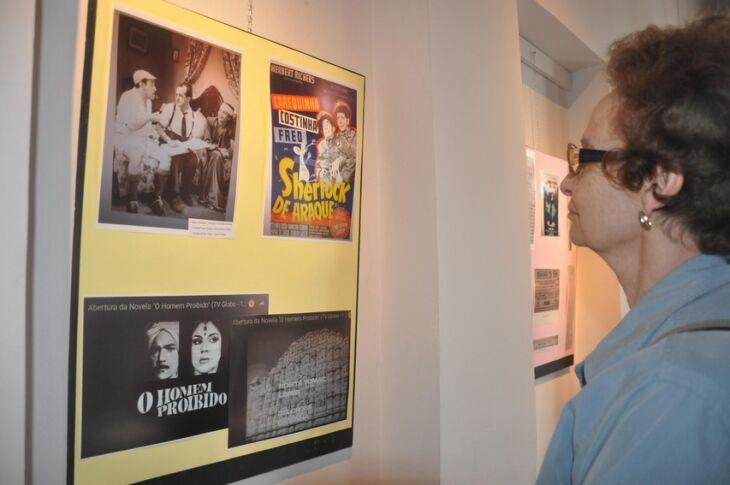 exposição pode ser visitada de segunda a sexta, das 13h30 às 17h