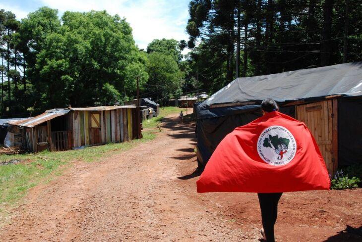 Acampamento Terra e Vida na localidade de Pontão reúne cerca de 50 famílias