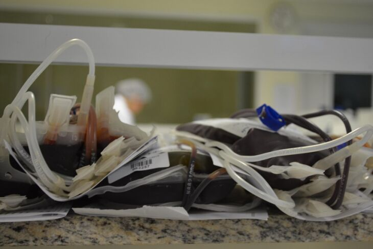 Hemocentro está com os estoques de sangue, tipos O positivo e negativo, baixos