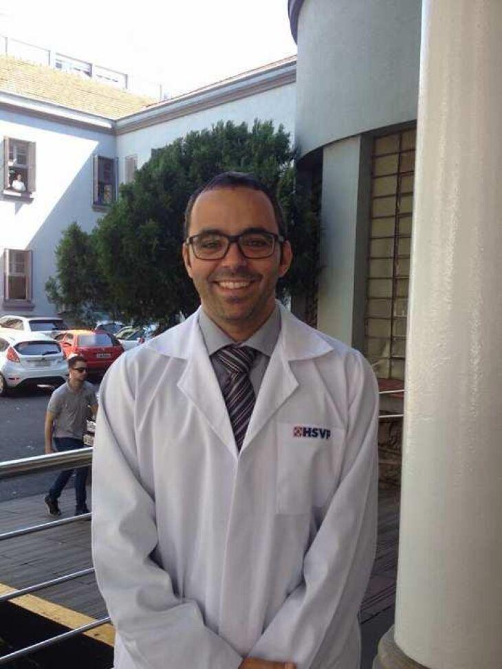 Dr. Mariano Crusius é médico radiologista do Hospital São Vicente de Paulo