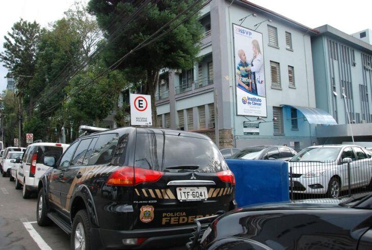 Cerca de 40 policiais participaram da operação na manhã de ontem (15) em Passo Fundo