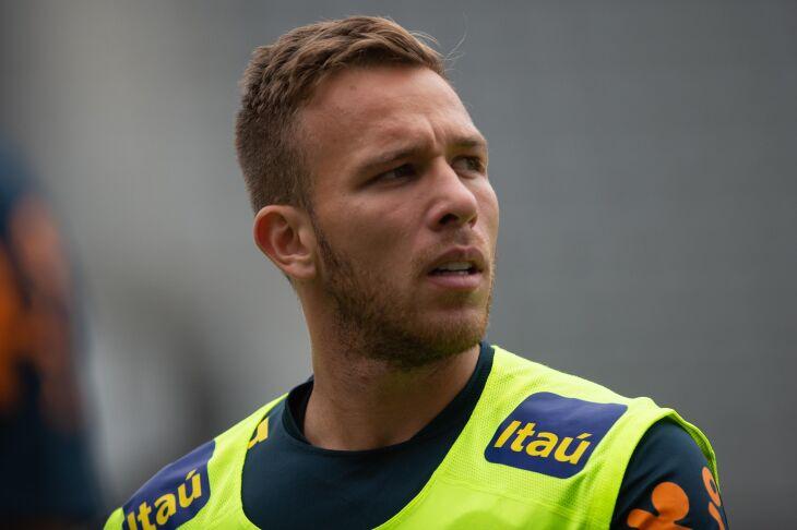 Arthur está confirmado no time titular