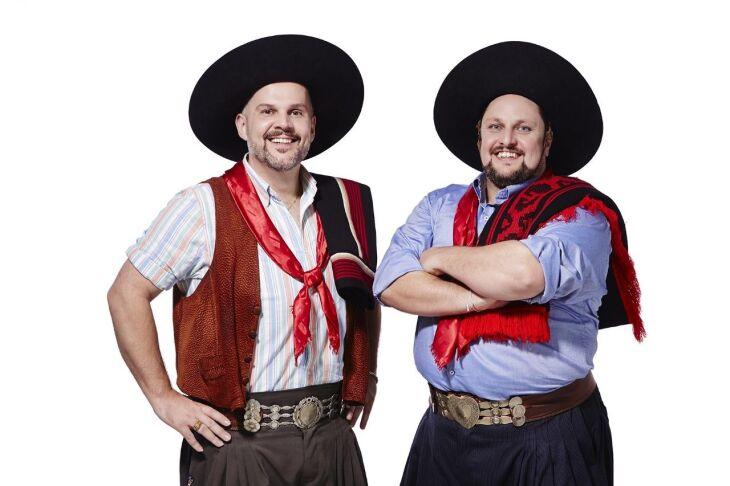 César Oliveira e Rogério Melo fazem o show na sexta-feira à noite