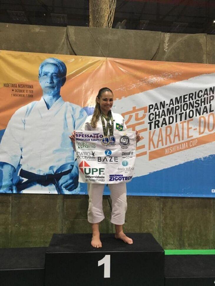 Atleta competiu em Curitiba (PR)