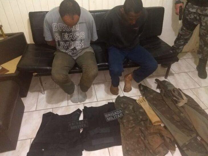 Prisões foram efetuadas por policiais do 10º Batalhão de Vacaria