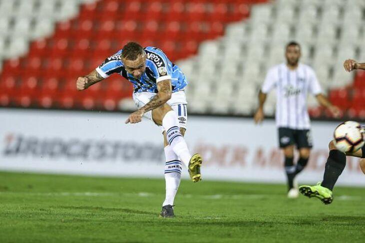 Everton: o Cebolinha marcou dois gols