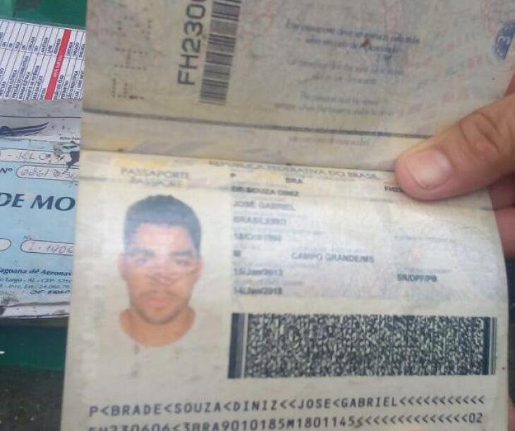 """Documento de Gabriel Diniz encontrado em local de queda de avião ?EUR"""""""