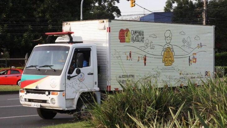 Central de Doações, na capital, recebeu cerca de 120 mil itens entre peças de roupas, calçados e materiais de higiene